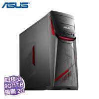 ASUS G11CD-K-0101A740GXT 電競電腦/i5-7400/GTX1050 2G/8G/1TB+256G SSD/DVD/WiFi/500W/W10/3年保/ASUS原廠鍵盤及滑鼠