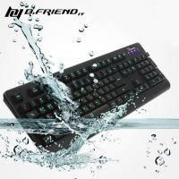 B.FRIEND G-Keyboard GK2 超防水LED發光遊戲鍵盤/LED 3色全背光【福利品出清】