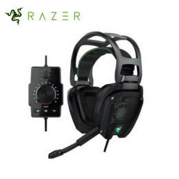 雷蛇Razer Tiamat 7.1 迪亞海魔 電競耳機麥克風 /耳罩式耳機/10個單體/7.1聲道/RGB背光/內建音效卡 (RZ04-02070100-R3M1)★分期零利率★
