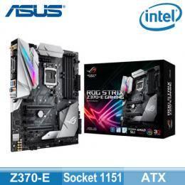 華碩 STRIX-Z370-E-GAMING(ATX/4*DDR4/2*M.2/Intel LAN/1D1H1DP/TypeC/S1220A音效/RGB/WIFI/登錄五年保)