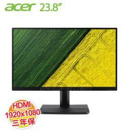 acer ET241Y 23.8 吋IPS液晶顯示器 IPS/D-Sub/HDMI/內建喇叭/三年保固