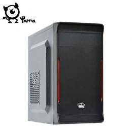 德隆(YAMA) 皇冠/M-ATX/黑化/上置式/Usb3.0&2.0/電腦機殼
