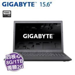 GIGABYTE P15F R7【i7-7700HQ/8G/1TB/GTX-950M 2G/15.6吋】
