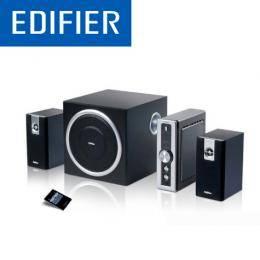 漫步者EDIFIER C2 2.1聲道 三件式喇叭 /6.5吋重低音音箱/數位音量顯示/支援AUX.PC音源雙數入
