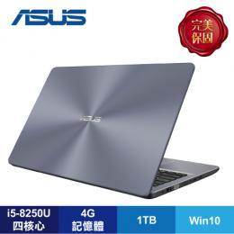 ASUS X542UN-0081B8250U 灰/i5-8250U/MX150 4G/4G/1T/15.6吋FHD/W10/含ASUS原廠包及滑鼠