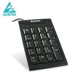 文鎧WiNTEK TK70 超薄數字鍵盤 USB 19KEY