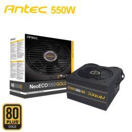 ANTEC NE550G (DC-DC架構)(550W/80+金牌/半模組)七年保固,二年換新