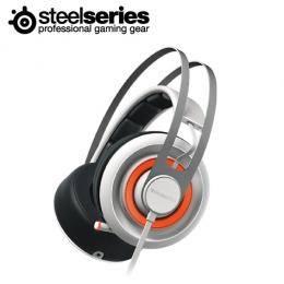 賽睿Steelseries Siberia 650 西伯利亞650 RGB背光 電競耳罩式耳機麥克風-白/杜比 7.1環繞音效/內建USB音效卡