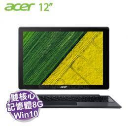 acer SW512-52-52DN 銀/i5-7200U/8G/512G intel PCIE/12吋 QHD IPS 觸碰/含原廠包包、鍵盤底座及手寫筆