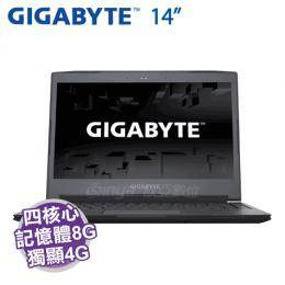 GIGABYTE AERO 14K V7 黑【i7-7700HQ/8G D4/512G M.2/GTX-1050 TI 4G/14吋 QHD/DVD/背光鍵盤/W10/Aero14K7-3K7770H..