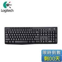 Logitech 羅技 K270 無線多媒體鍵盤/全尺寸/超薄邊框/八個功能鍵/省電設計/2.4GHz
