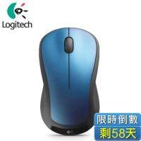 Logitech 羅技 M310t 無線雷射滑鼠/精準雷射/無線設計/隨插即忘/ 2.4 GHz/藍