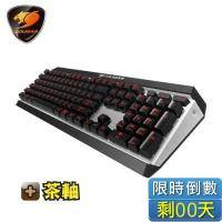 【COUGAR 美洲獅】ATTACK X3 機械式鍵盤/茶軸/紅光