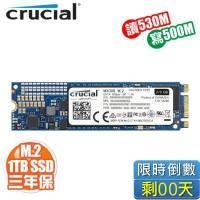 美光 Crucial MX300 1050G/M.2 SATA 2280/讀:530M/寫:500M