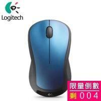 羅技 M310t 無線雷射滑鼠/精準雷射/無線設計/隨插即忘/ 2.4 GHz/藍