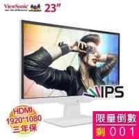 優派 23吋 VX2363SMHL-W /IPS 防閃屏抗藍光/無邊框/HDMI/一年無亮點保固 (推薦)【福利品出清】