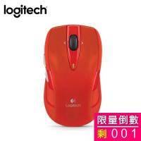 Logitech 羅技 M545 無線光學滑鼠(紅)/無線/1000dpi/Unifying