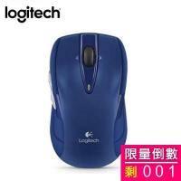 Logitech 羅技 M545 無線光學滑鼠(藍)/無線/1000dpi/Unifying