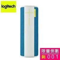 Logitech UE BOOM 藍牙無線喇叭/360度全向性音效/防潑水防汙/可音效串連/藍色