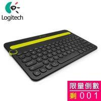 Logitech 羅技 K480 藍芽鍵盤/多功能/黑