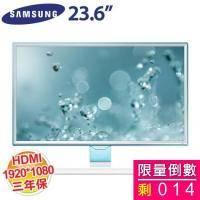 SAMSUNG 23.6 吋 S24E360HL/PLS LED/HDMI+D-SUB (低藍光、零閃屏)【福利品出清】
