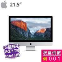Apple iMac 21.5/1.6DC/8GB/1TB/IntelHD/WLMKB*MK142TA/A