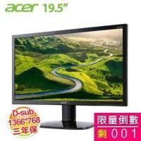 acer KA200HQ 20型LED液晶顯示器 (不閃頻、濾藍光)