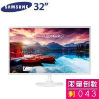 SAMSUNG 32吋 S32F351FUE/PLS LED/HDMI*2(極薄機身/AMD FreeSync/低藍光/零閃屏)