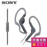【SONY耳機】MDR-AS210AP/B 黑